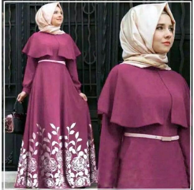 HSNFashion Dress Wanita Andivi // Dress Muslim // Baju Muslim // Gamis Wanita // Fashion Muslim