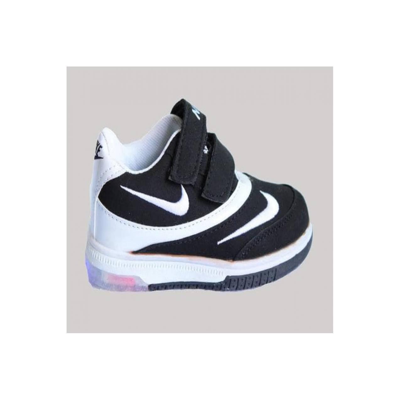 Info Harga Sepatu Led Nike Anak Termurah Oktober 2018 Terbaru Model Jaring Super Murah Light Nyala Double Black