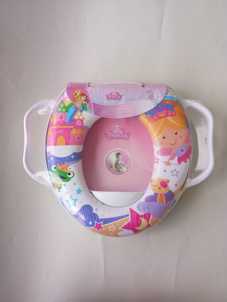 Freeshop Potty Seat Handle Dudukan Closet Anak Perempuan Princess - Pink