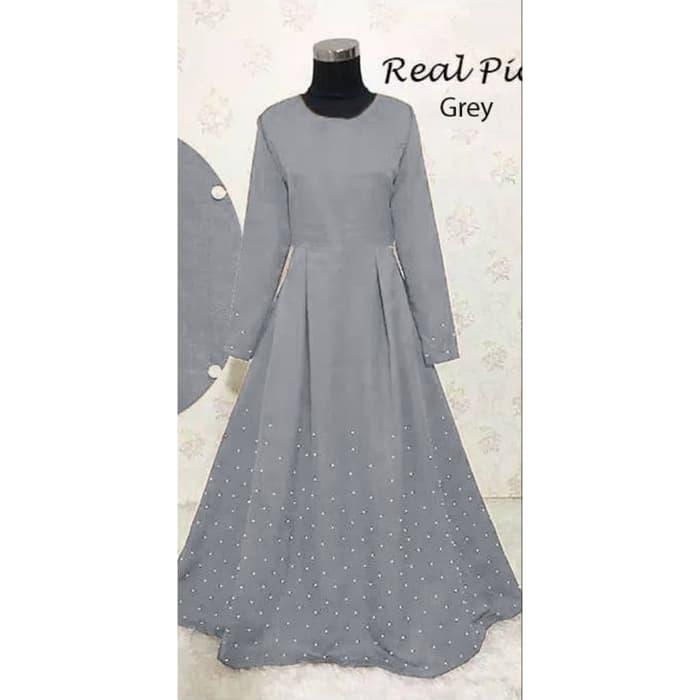 Dress Muslim Gamis Glamour Serma vs