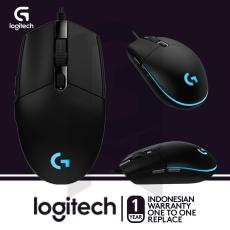 Logitech G102 Prodigy Gaming Mouse - Hitam + Mouse Pad