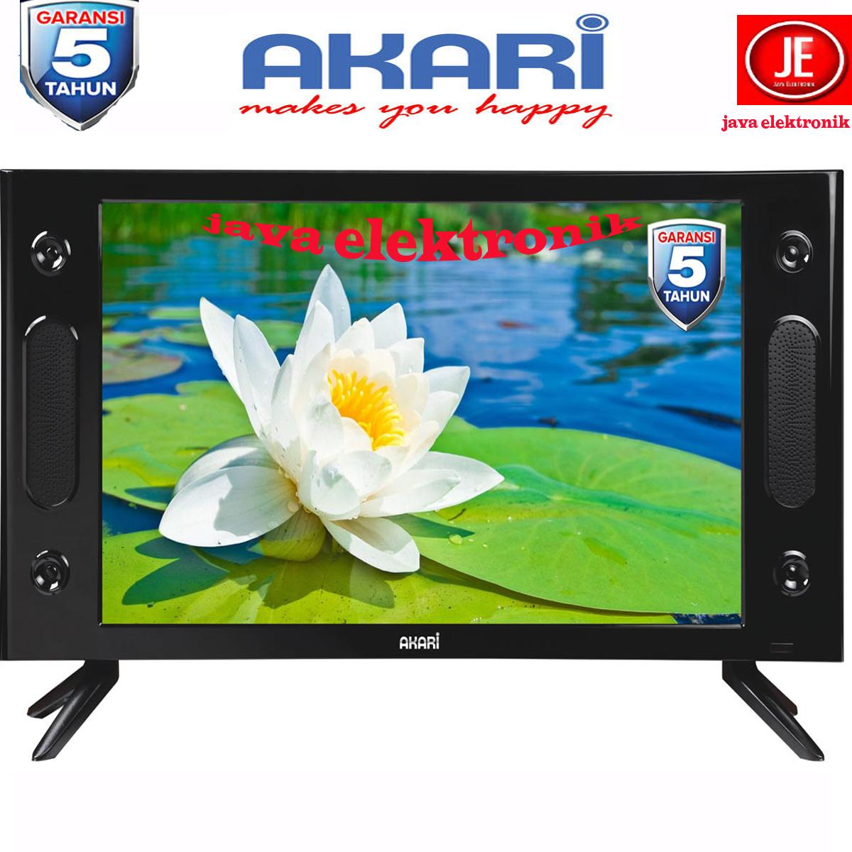 AKARI HD Ready LED TV w/ USB Movie 25-inchi - LE-25V89 - 5 tahun garansi resmi