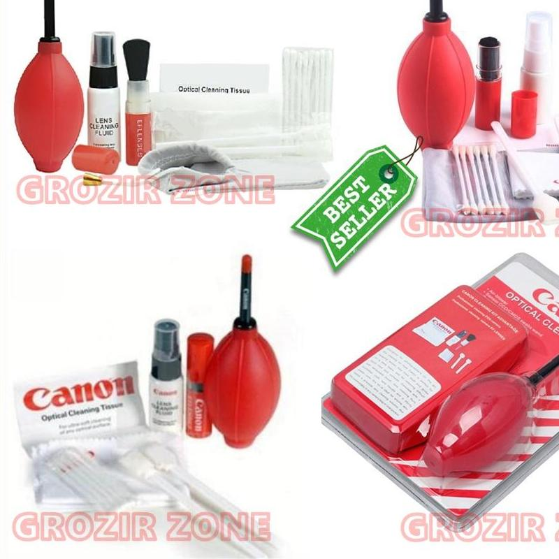 Cleaning Kit Canon / Pembersirh Lensa Kamera Canon - Red ( Grozir Zone )