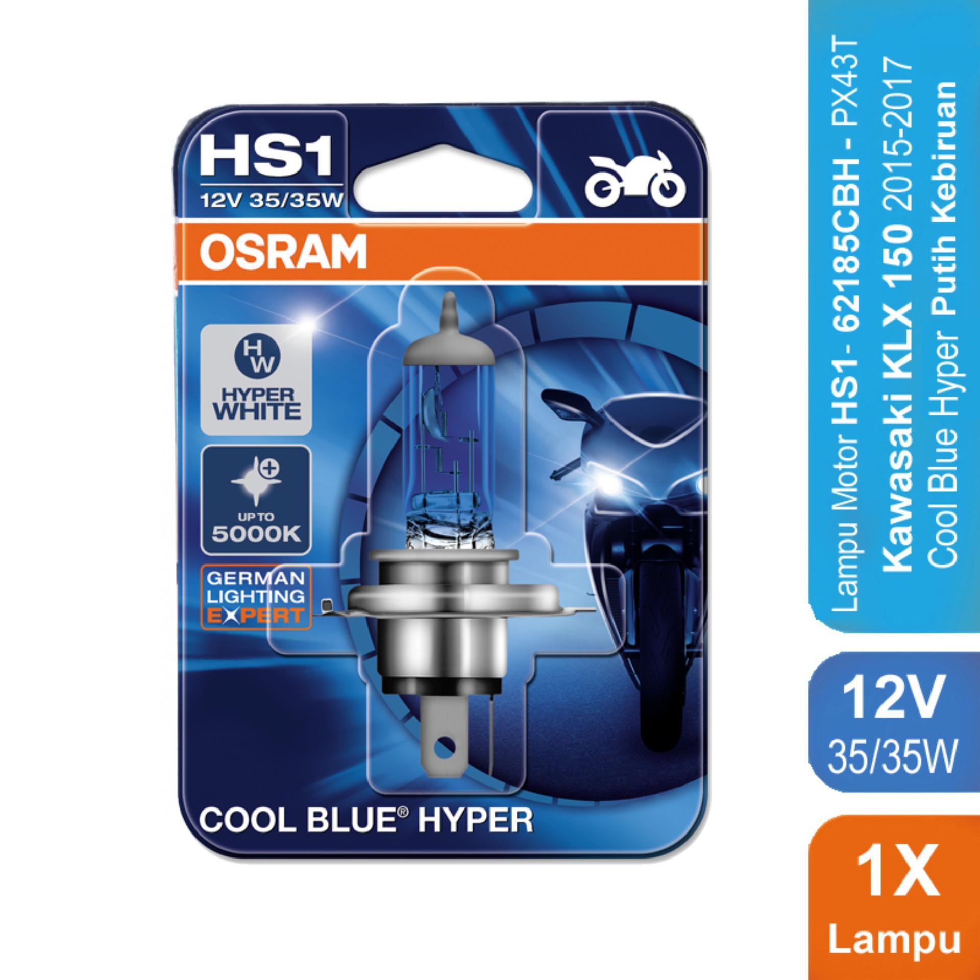 Osram Lampu Motor Kawasaki KLX 150 2015-2017 - HS1 62185CBH 12V 35/35 - Cool Blue Hyper