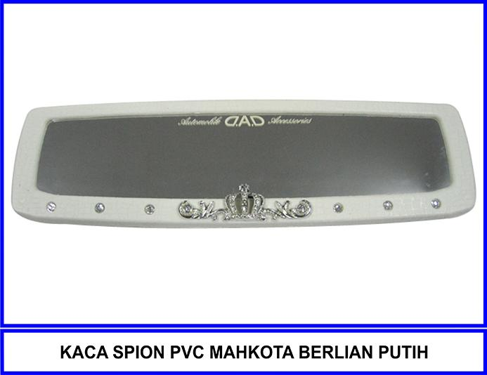 Kaca Spion Pvc Mahkota Berlian Putih By Katzia Accessories.