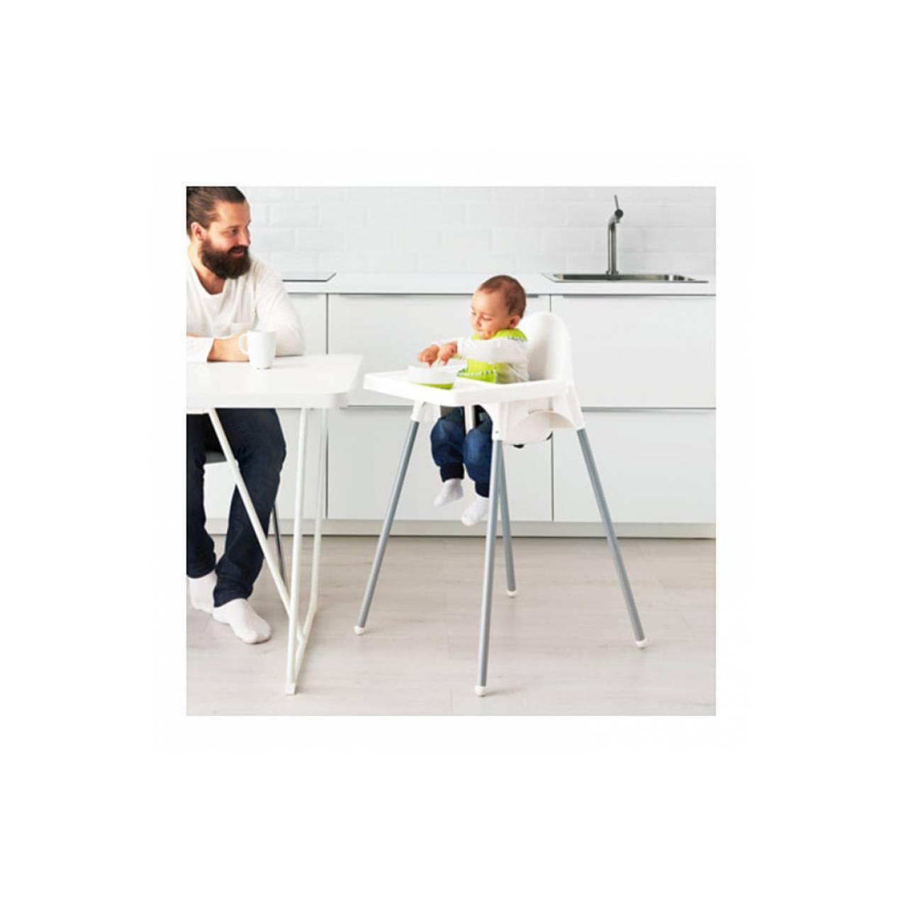 Kursi Makan Anak Bayi + Meja Baki IKEA ANTILOP Cafe Restaurant Rumah