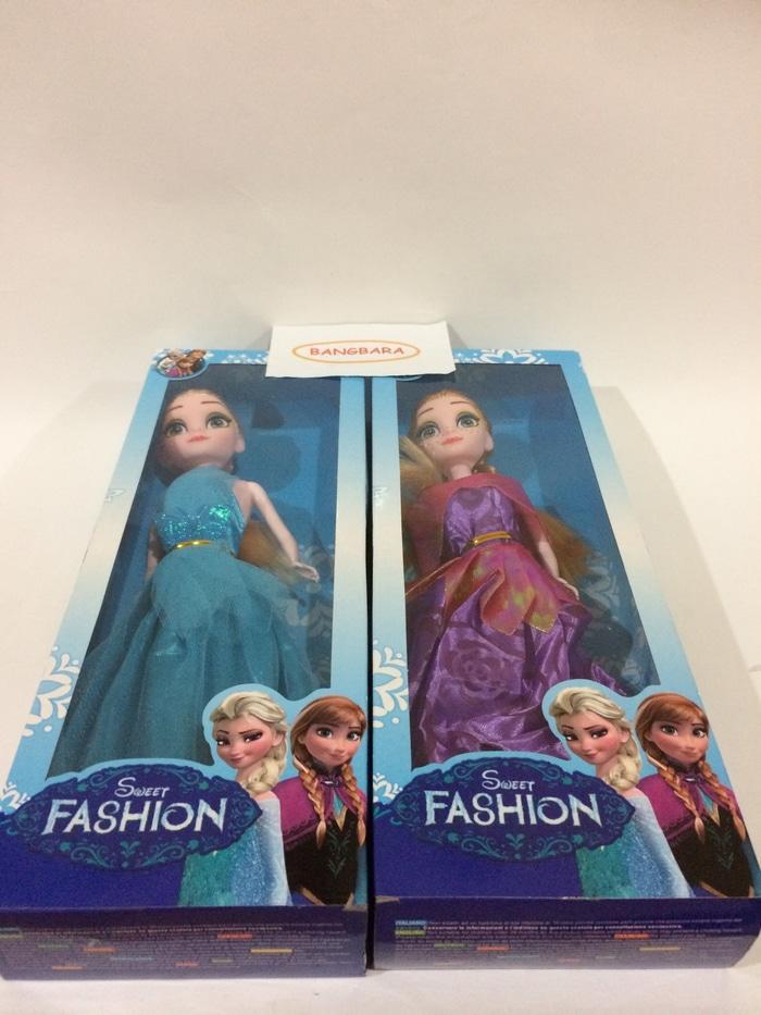 Boneka Frozen Elsa & Anna - Boneka Frozen Fashion - K60Gai