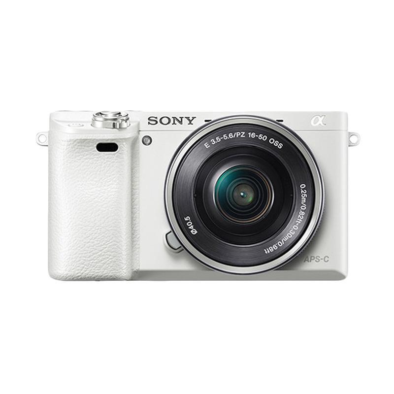 SONY Alpha A6000 White Kit 16-50mm f/3.5-5.6 OSS + SONY E 35mm f/1.8 OSS White