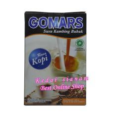 kedai sianam - Gomars Susu Kambing Etawa Original Rasa Kopi - 1 Kotak