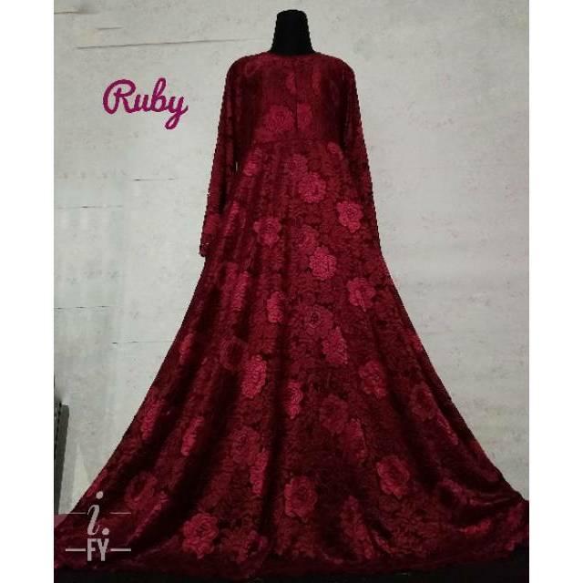a7ffc9f573b9e5696093ba67160638c0 10 Daftar Harga Maxi Dress Muslim Brokat Paling Baru waktu ini