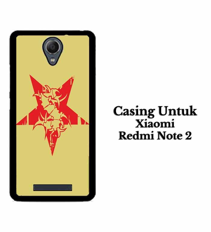 Casing XIAOMI REDMI NOTE 2 sepultura logo Hardcase Custom Case Se7enstores