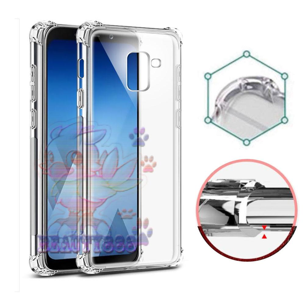Case For Samsung Galaxy J6 2018 Ultrathin Anti Crack Luxury Softcase Anti Jamur Air Case 0.3mm / Silicone Samsung J6 2018 / Soft Case / ANTI Shock Case / Silikon Anti Crack / Ultrathin Samsung Galaxy J6 2018 Anti Crack - Putih Transparant