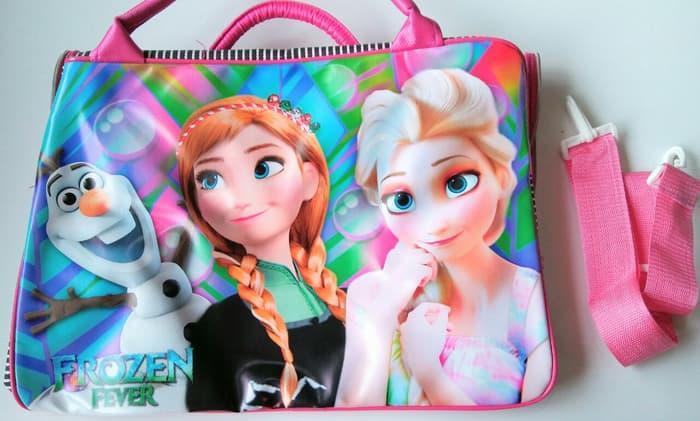 HOT SPESIAL!!! Tas Renang / Tas Travel / Koper Anak Bisa Selempang Juga Frozen