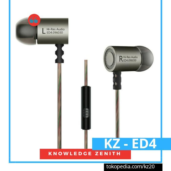 Knowledge Zenith Hifi In-Ear Earphones Heavy Bass - Kz-