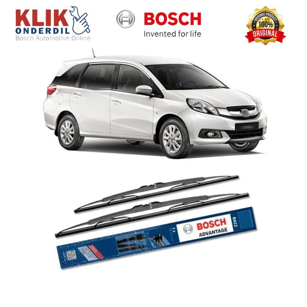 "Bosch Sepasang Wiper Kaca Mobil Honda Mobilio Advantage 22"" & 16"" - 2 Buah"
