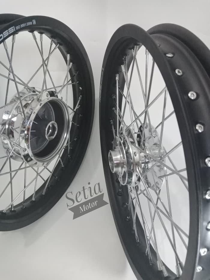 Velg Rx King Sepaket - Tersedia Ring 17 18 Lebar Sedang - Tromol Jari