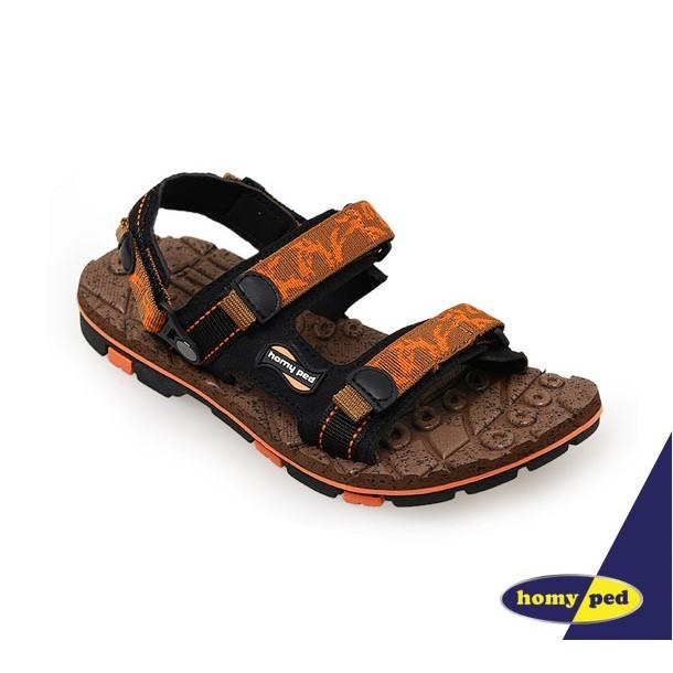 HOMYPED TAZMANIA 01 Sandal Anak Brown/Orange