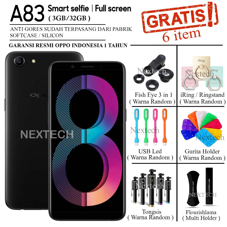 Oppo A83 - Ram 3GB - Rom 32GB - Garansi Resmi