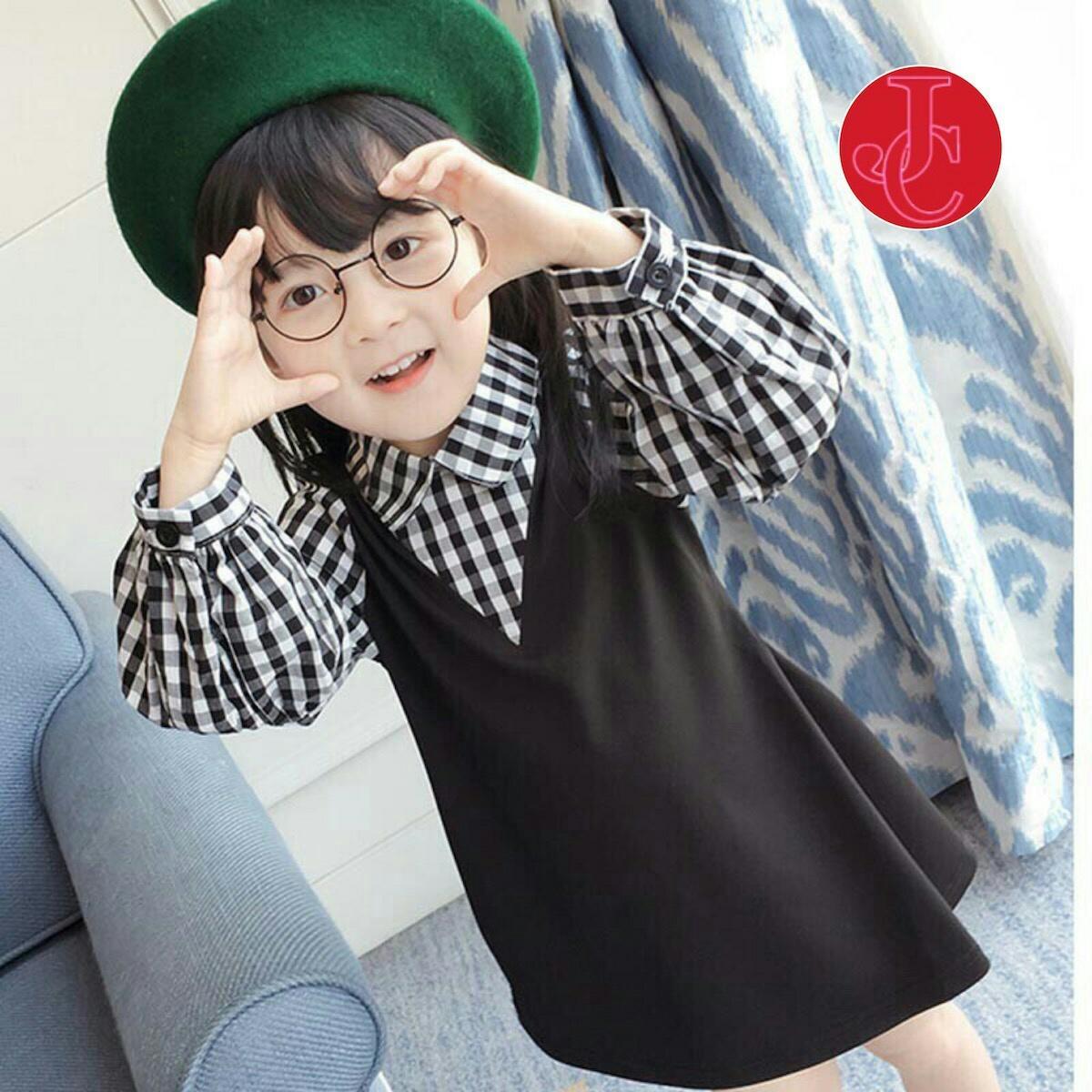 FJCO FJ Dress Fely kids / Dress anak / Fashion anak perempuan