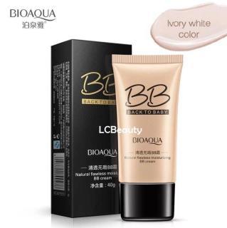 BIOAQUA BB BACK TO BABY - Bioaqua BB Cream flawless moisturizing - 02 IVORY WHITE thumbnail