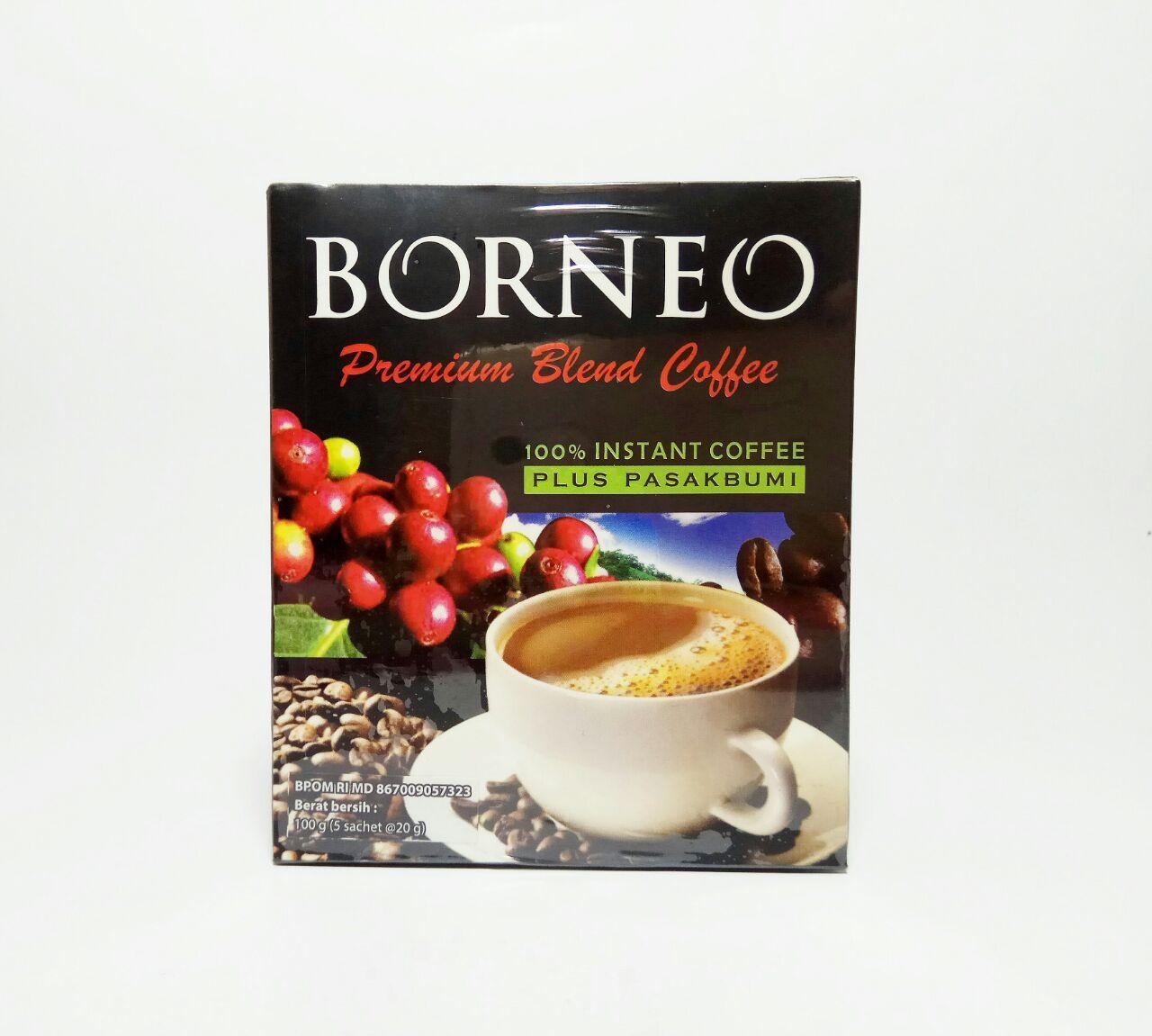 Kopi Jantan Kopi Borneo isi 5 saset BPOM resmi