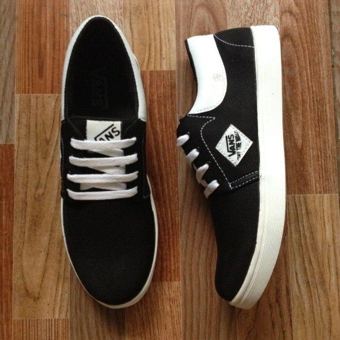 Vans casual denim blek white limited edition VD5