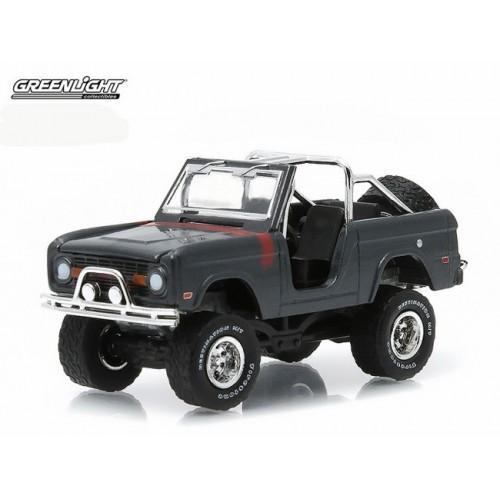 Diecast Greenlight Collectibles Ford Bronco 1968 Abu-Abu