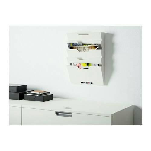 RAK KORAN IKEA KVISSLE, rak majalah pada dinding