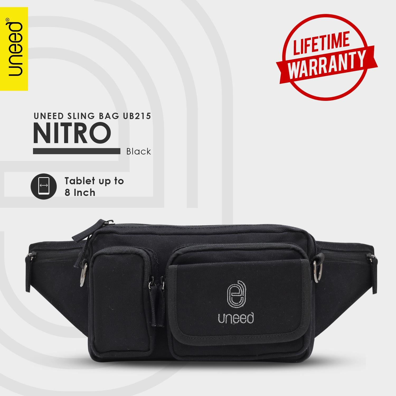 UNEED Tas Selempang Pria / Sling Bag UB215 Nitro - Original