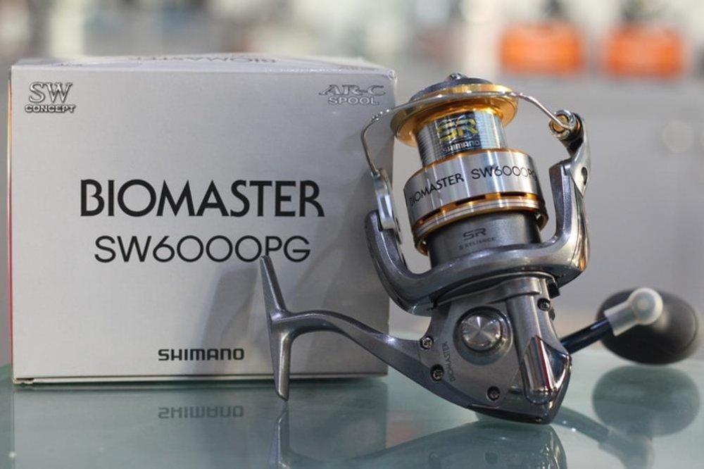 Reel Spinning Shimano Biomaster SW6000PG Max Drag 13 kg