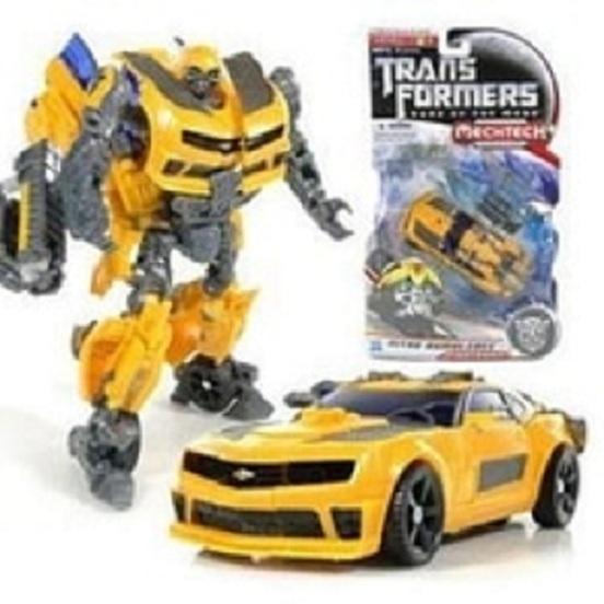 Robot Menjadi Mobil Bumble bee Super Change Robot Transformer