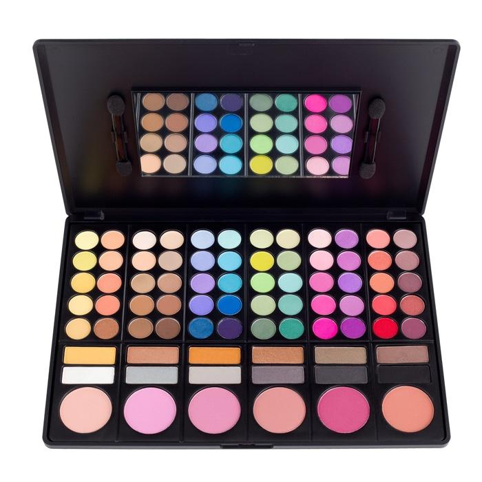 BEST SELLER MAC PELETTE 78 COLOR - MAC PALETTE LENGKAP HIGH QUALITY - PALETTE BISA DIPAKAI EYESHADOW DAN BLUSH ON - PRODUK MAC TERLARIS
