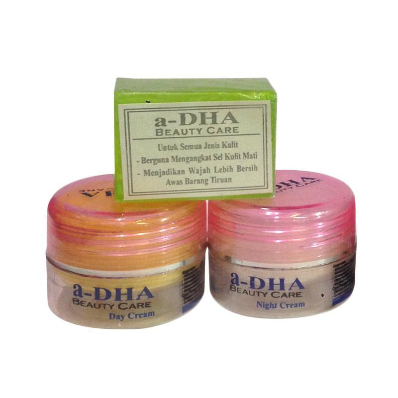 Adha Paket Cream Pemutih Wajah Pink 40 Tahun Kebawah