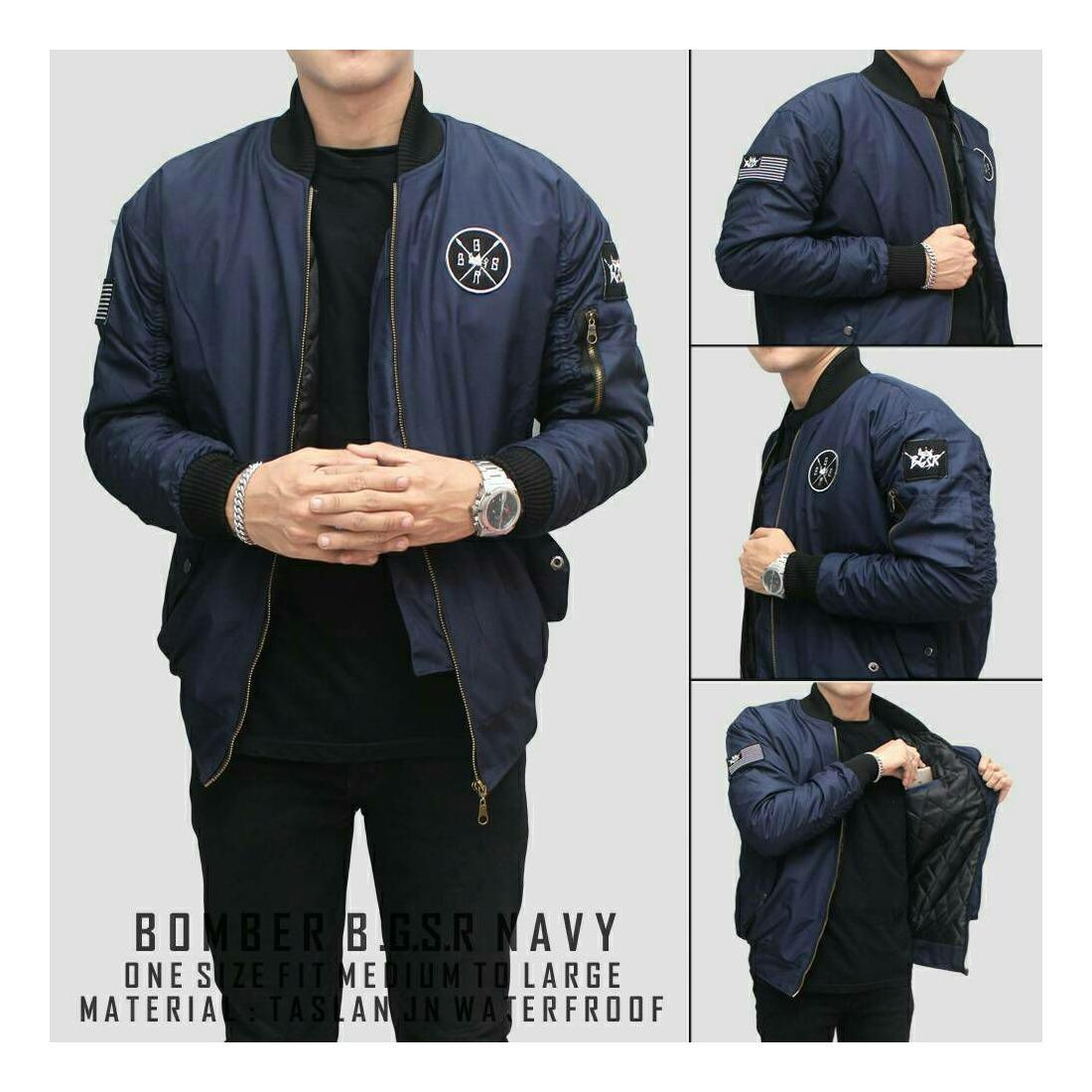 Produk berkualitas dengan harga terjangkau Blues Clothing - Jaket Bomber  Pria Best Seller 10782be7cd