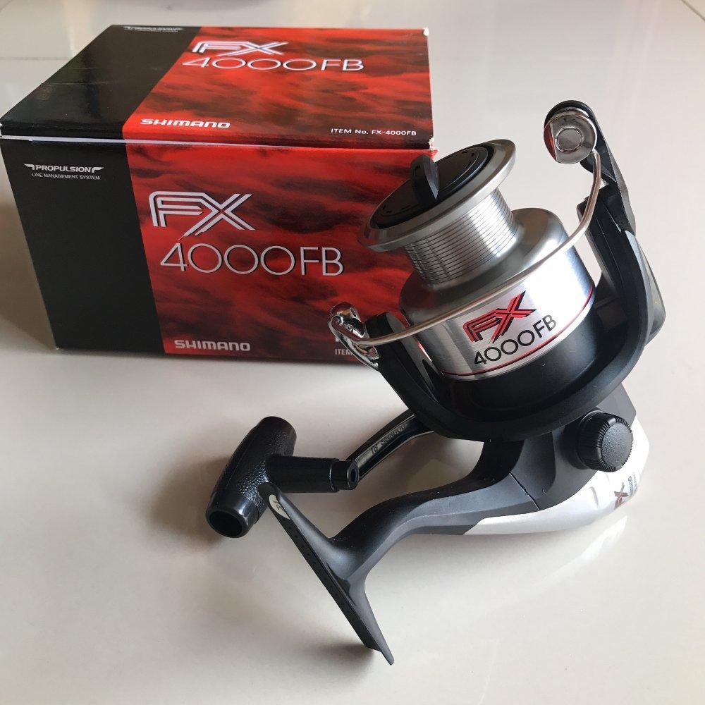 Reel Shimano FX 4000 TERBARU BOS PANCING zerya_fishing