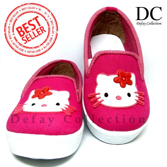 Sepatu Casual Anak Perempuan Hello Kity Fanta 4528a1039c