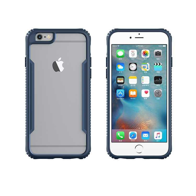 iPhone 6 Plus/6s Plus Clear Unique Tempered Glass Hard Case
