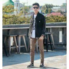 Jaket Jeans Pria / Jaket Dilan / Jaket Denim Premium - Hitam