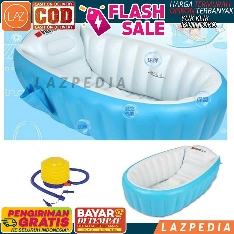 [d52] - Bisa Byr Ditempat - Promo!!!! - Paket Intime Baby Bath Tub / Bak Mandi Bayi + Bonus Pompa / Baby Intime / Tempat Mandi Bayi / Pelampung Bayi - Lazpedia By Lazpedia.