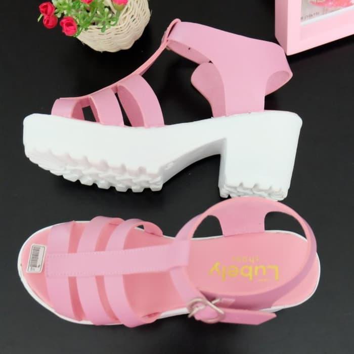 Sepatu wanita sneakers/Sepatu wanita flat/Sepatu wanita wedges/Sepatu wanita heels/Sepatu wanita murah/Sepatu wanita kickers/Sepatu wanita import Wedges Wanita Platform NV03