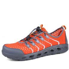 Uniseks EU33-44 Sepatu Rendam Sepatu Trekking Anti Selip Udara Sepatu Olahraga By The Crowd Mendaki Sepatu Lari Bernapas Sepatu jala Wading Sepatu ...