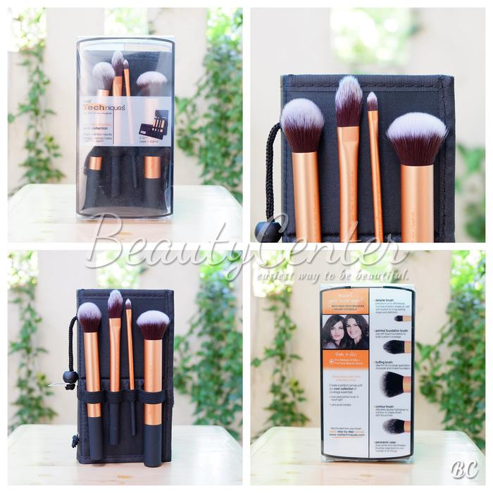 Ready Stock Real Tech Brush - Core Collections (Isi 4)