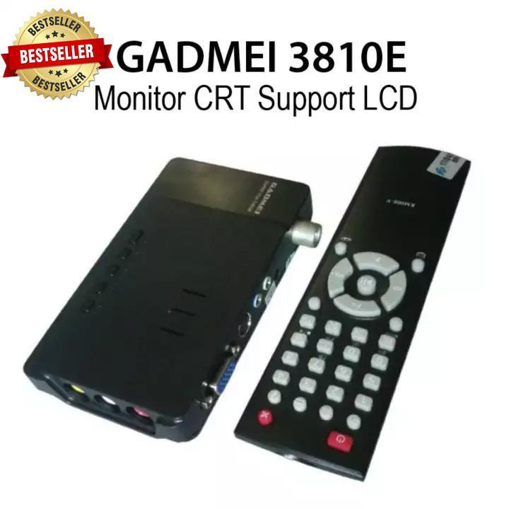 Gadmei Tv Tuner CRT 3810E (bisa untuk Lcd)