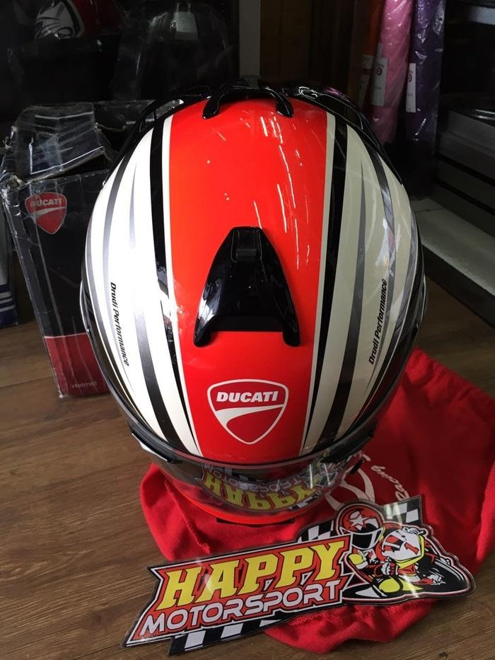 Harga Spesial!! Sale!! Helm Arai Ducati Vector2 Ducati Stripes 2012 Size L By Arai Usa - ready stock