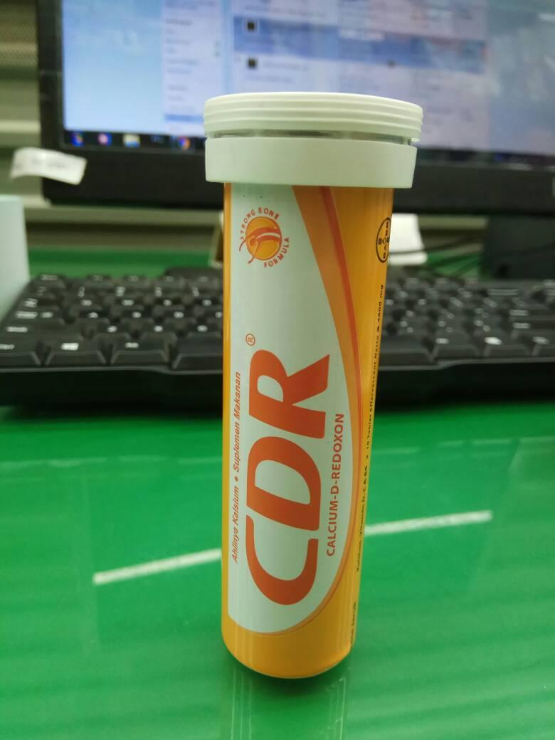 Cdr Redoxon Tablet Isi 15 Calcium D 10 Effervescent