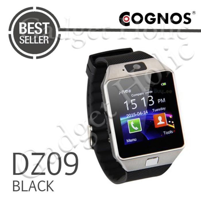 Onix Cognos ZGPAX Smartwatch U9 DZ09 - GSM Sim Card - Strap Karet TANPA BOX
