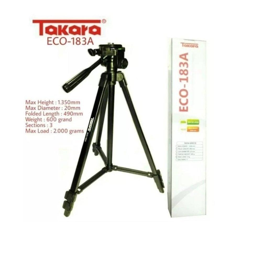 Tripod Takara ECO 183A - Setara Excell Promoss - for DSLR & Mirrorless