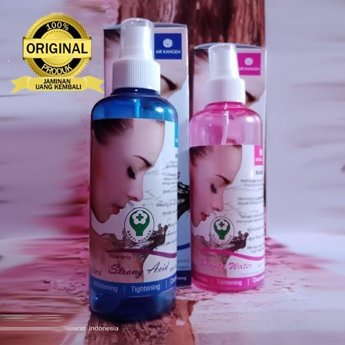 Paket 250ml Water Strong Acid dan Beauty Water 100% AIR KANGEN ASLI