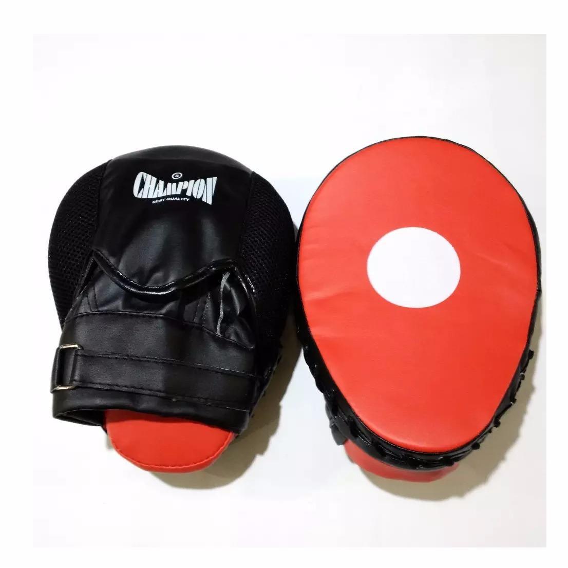 Champion Focus Mitt / Target Pukul / Kick / Punching Pad For Boxing Mma Muaythai Glove
