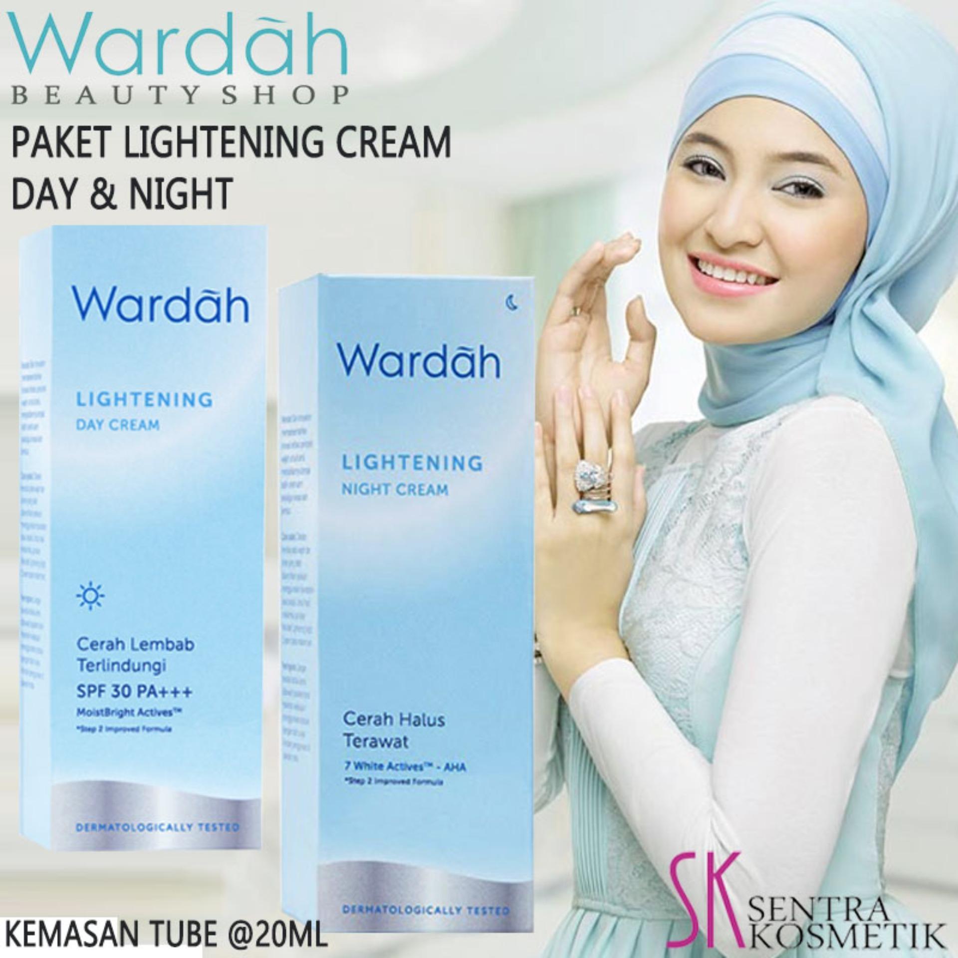 Wardah Lightening Day Cream Step 2 20 Ml Referensi Daftar Harga Paket Kosmestik Series Dan Night Tube